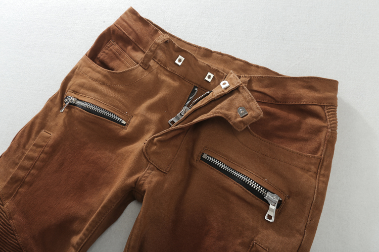 ae8d998fe2b367 2016 New Men Nightclubs brown Jeans,Famous Brand Fashion Designer Denim  Jeans Men,plus size 28 40, casual jean-in Jeans from Men's Clothing on ...
