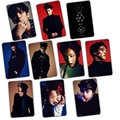 Kpop EXO EX 'ACT monster style transparent crysta sticker with 10 pieces Lay Sehun Baekhyun Chanyeol Do Suho Kai Xiumin Chen