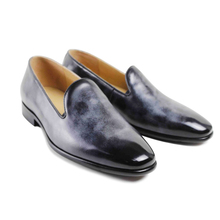 2017 Hot Superstar Shoes Flat Vintage Custom Mens Loafer Shoes Luxury Fashion Hand Dress Party Real Genuine Leather Original