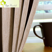 Japan Faux Linen Curtains for Living Room / Kitchen Curtains for Kids Bedroom Window Treatments Curtain Roman Blind Home Textile