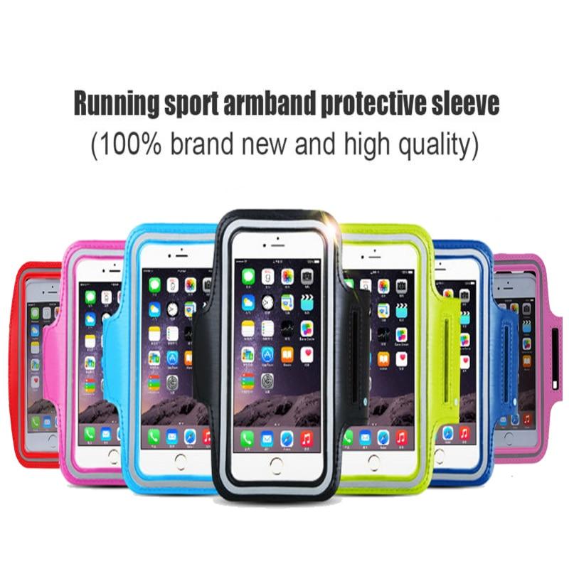 For Huawei Samsung Sport Arm Band Case Բջջային հեռախոս - Բջջային հեռախոսի պարագաներ և պահեստամասեր - Լուսանկար 6