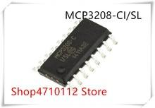 NEW 10PCS/LOT MCP3208-C-I/SL MCP3208 MCP3208-C MCP3208-CI/SL SOP-16 IC