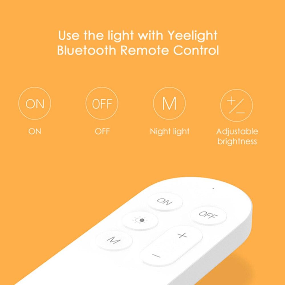 Image 4 - Yeelight YLXD01YL умный светодиодный потолочный светильник с защитой от пыли, беспроводной, со светодиодной подсветкой, работа с затемнением для Google Home 320 28 Вт AC 220 В-in Умный пульт управления from Бытовая электроника