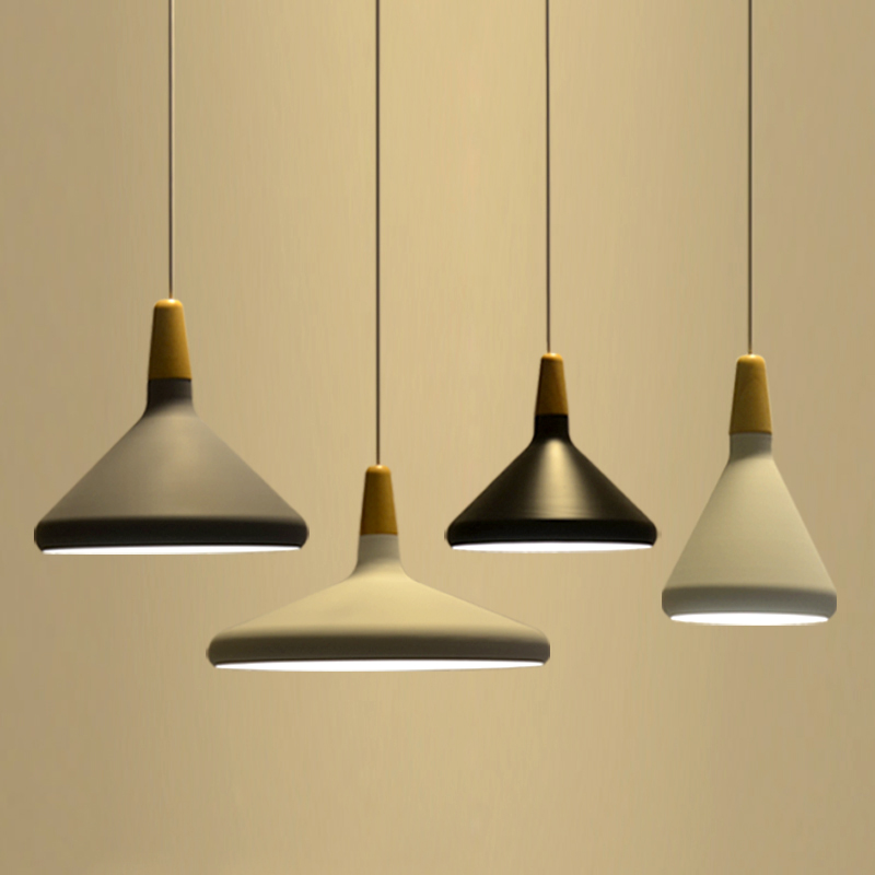 Nordic Pendant Lights Fashion Restaurant Lamp Bed Room Lighting Kitchen  Lamps Japanese Simple Hanging Lamps AC110V