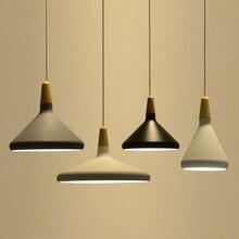 ФОТО Nordic pendant light  restaurant lamp bedside lamp kitchen lamps Japanese minimalist creative designer style