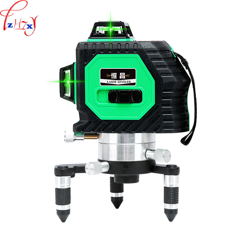 12 Lines 3D Laser Level Self-Leveling Red Laser Beam Line 360 Horizontal And Vertical Cross Super Powerful Laser Beam Line 1PC12 Lines 3D Laser Level Self-Leveling Red Laser Beam Line 360 Horizontal And Vertical Cross Super Powerful Laser Beam Line 1PC