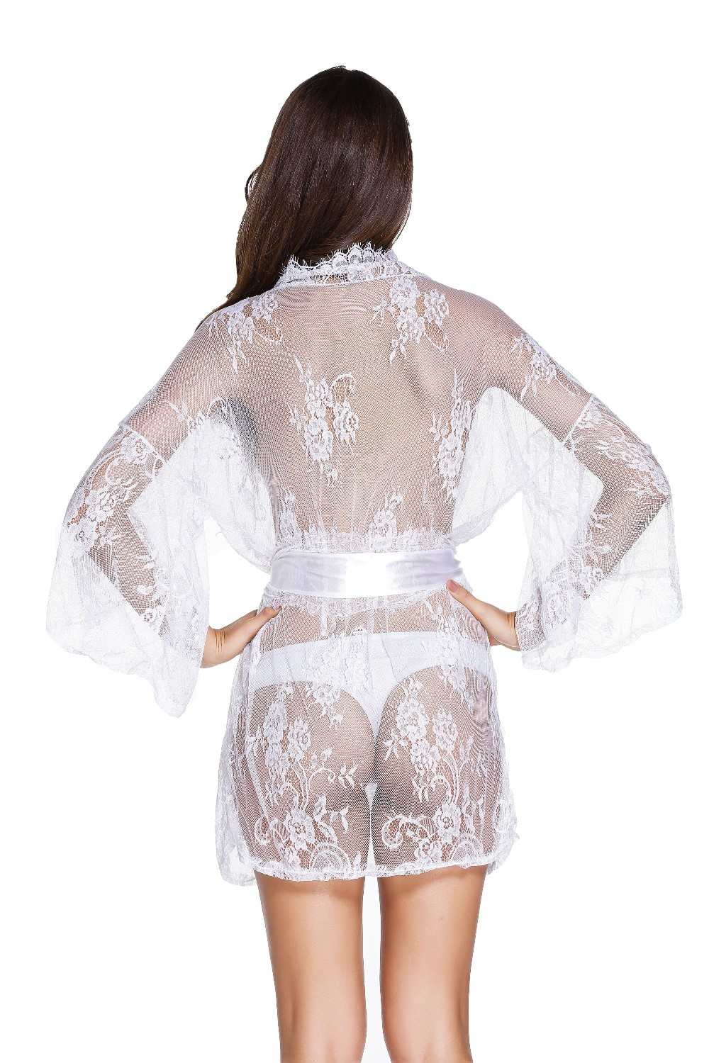 White-Belted-Lace-Kimono-Nightwear-LC21998-1-7