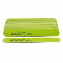 10 шт. деревянная пилка для ногтей Полировка 100/150 шлифовальные буферные блоки для УФ-геля Полировка шлифовальный аппарат для маникюра салонные инструменты для ухода за ногтями