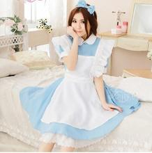 Alice In Wonderland Party Cosplay Costumes Maid Uniform Dress
