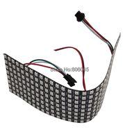 8x32 Pixel 256 Pixels WS2812B Digital Flexible LED Panel Individually Addressable Full Dream Color DC5V