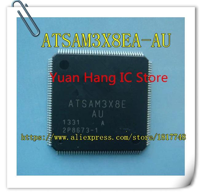 Free Shipping! 5PCS ATSAM3X8EA-AU ATSAM3X8E AU QFP144 IC MCU 32BIT 512KB FLASH 10pcs free shipping attiny13a ny13a attiny13a su sop 8 8 bit microcontrollers mcu 1kb in system flash 20mhz 1 8v 5 5v