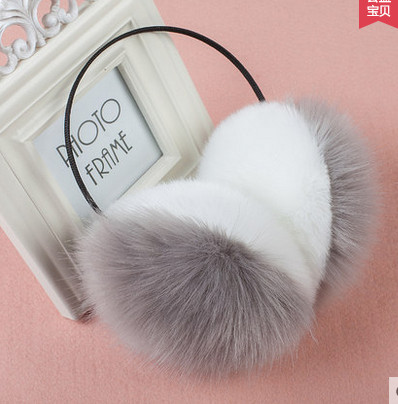 2017 New Imitation Of Rabbit Hair Autumn And Winter Thermal Earmuffs General Fashion Men And Women Ear Package AU0055