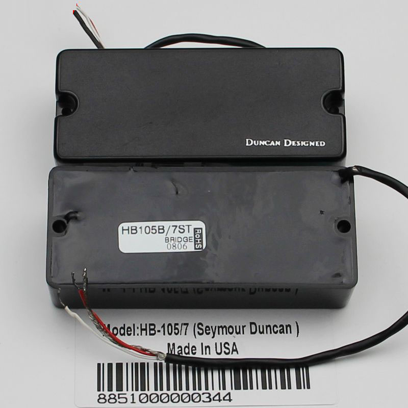 Duncan Designed Hb 105 Wiring Diagram - Introduction To Electrical ...