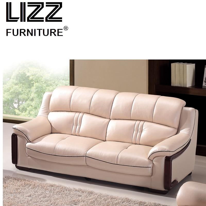 Otobi Modern office furniture wooden Divani Miami Leather loveseat ...
