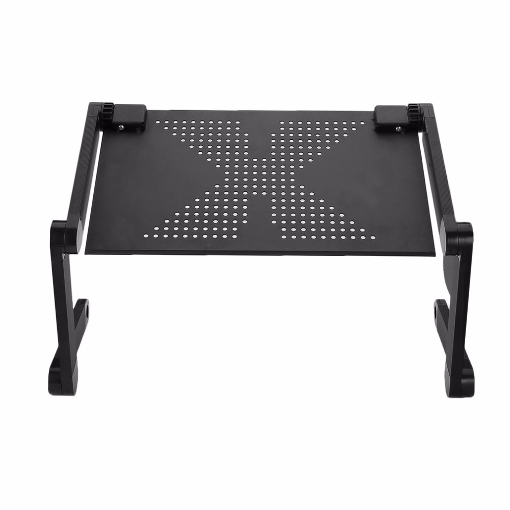 360 Degree Aluminum Alloy Computer Desk Portable Adjustable Laptop Notebook Table Stand Tray Lazy Foldable Drop Shipping