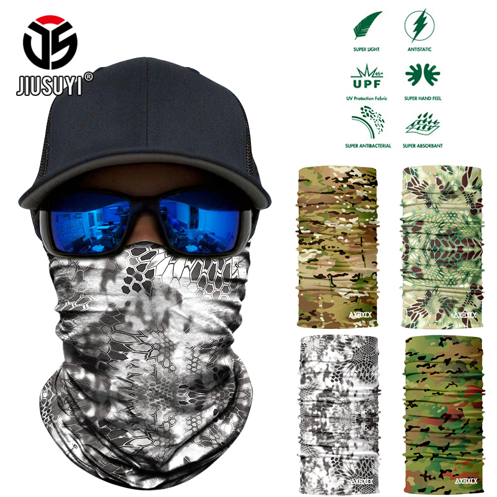 Neck Scarf Headband Face-Mask Balaclava Ski-Shield Seamless Magic Camouflage Warmer Anti-Uv