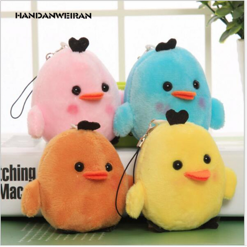 Painstaking 2019 New 1pcs 7cm Colorful Chicken Plush Toys Relax Chick Stuffed Toys For Christmas Gift Girl Random Color Handanweiran Stuffed & Plush Animals