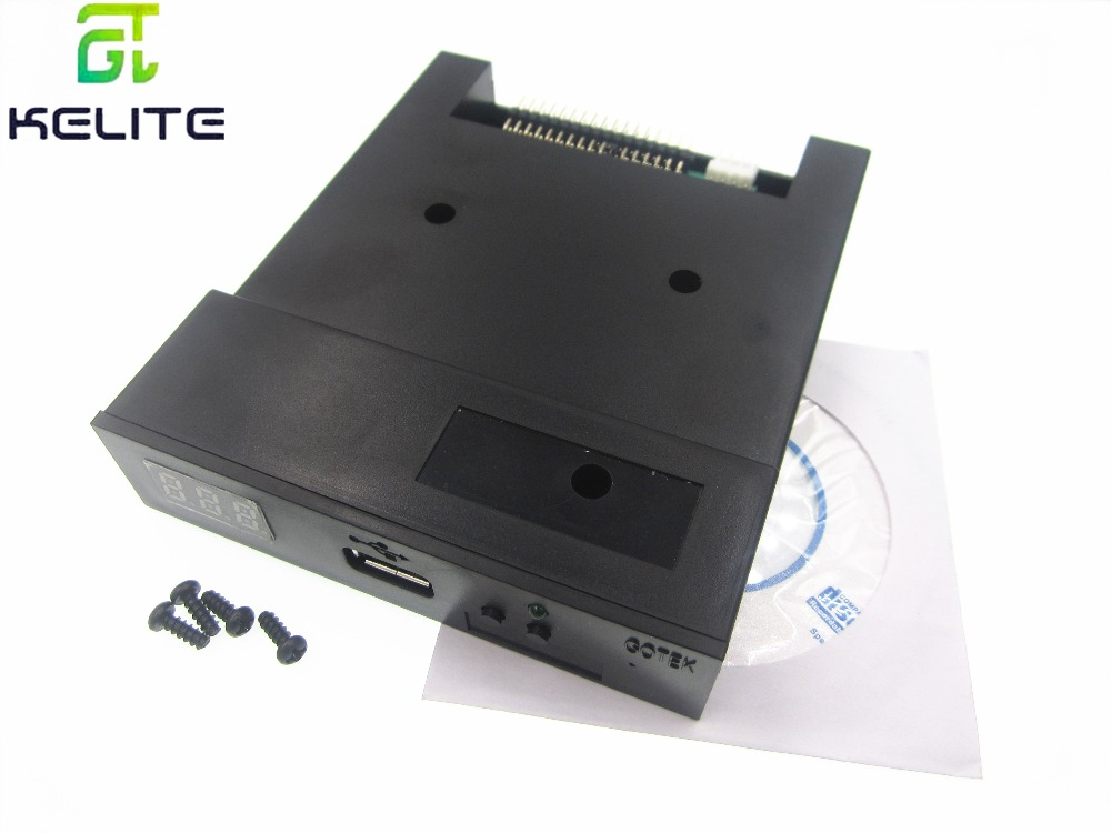New Version SFR1M44-U100K Black 3.5 1.44MB USB SSD FLOPPY DRIVE EMULATORNew Version SFR1M44-U100K Black 3.5 1.44MB USB SSD FLOPPY DRIVE EMULATOR