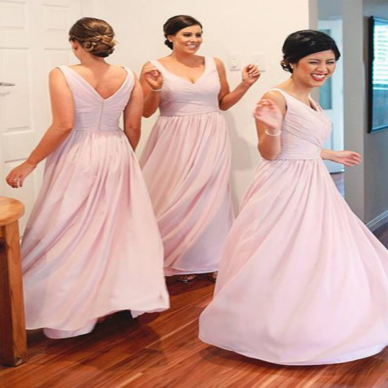 Atractivo Polvorientos Vestidos De Dama Azul Colección de Imágenes ...
