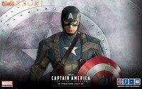 Gratis Verzending! Avengers Leeftijd Van Ultron Captain America Steve Rogers Army Uniform Outfit Cosplay Kostuum, Perfect Custom Voor u!