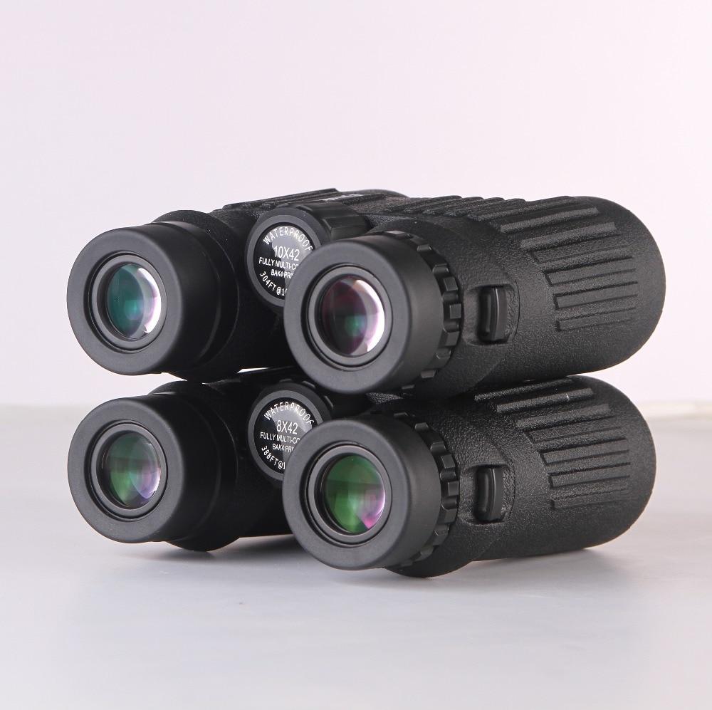 Eyeskey Binoculars 8x42 Hunting telescope Waterproof Binoculares Telescope Bak4 Prism for Camping/match watching fast shipping free shipping 2015 new 8x42 waterproof bak4 roof prism binoculars 118m 1000m long range high end binoculars hot sale