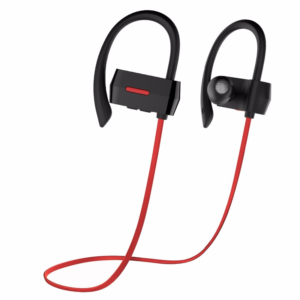 OldShark Bluetooth Earbuds V4.1  Wireless Sport Stereo Headphones with Microphone 7 Hours Play Time Noise Cancelling Red dreamersandlovers bluetooth earbuds with microphone comfortable headphones with noise cancellation up to 7 hr music play black