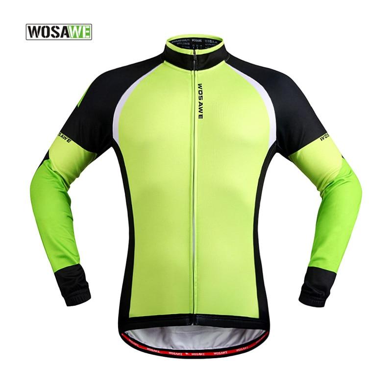 ᗐwosawe Cycling Clothing Men Women Cycling Jersey Fleece Themal