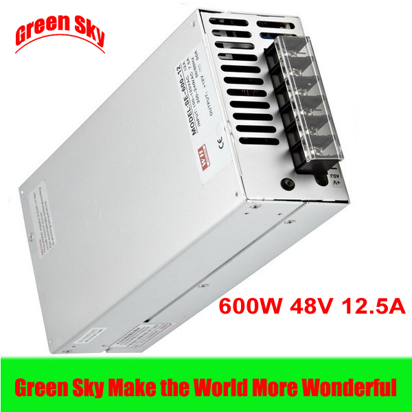 New Arrival Cooling fan 600W Power Supply Voltage Transformer LED Display DC single output 12.5A dc 48v new arrival cooling fan 600w voltage transformer led display dc single output 12v 50a