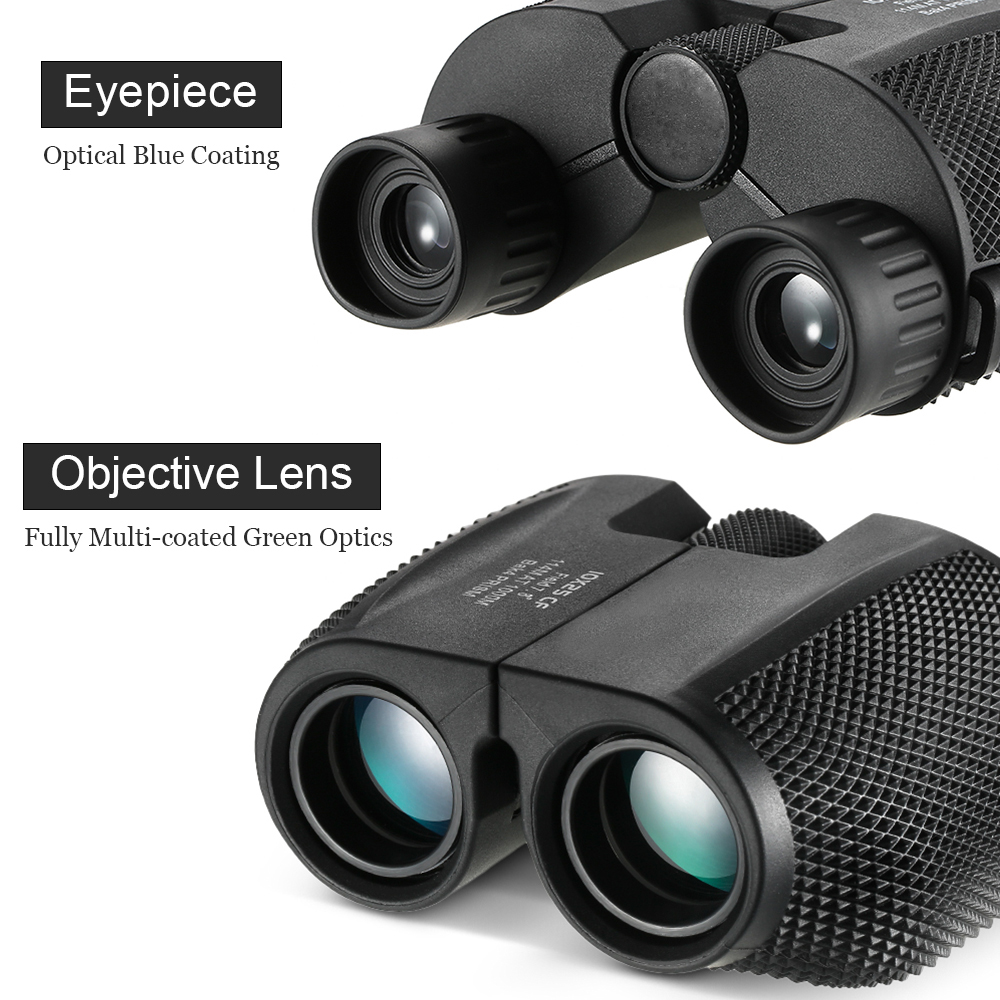 Image 5 - Foldable Waterproof 10x25  Night Vision Binocular Telescope Green Lens for Outdoor Sports Concerts Games Sightseeing-in Monocular/Binoculars from Sports & Entertainment