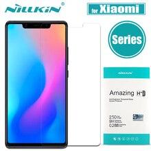 Xiaomi mi 9 8 облегченное закаленное стекло Экран Protector Nillkin Ясно Защитная пленка для Xiaomi mi 9 mi 8 SE исследовать mi 6X A2 A1 6 5