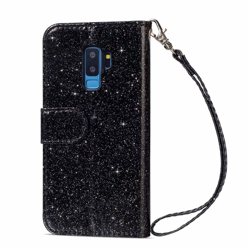 HTB1qBQMaLvsK1RjSspdq6AZepXay Wallet PU Leather Case For Samsung Galaxy S11 S10 E S9 S8 Plus S6 S7 Edge Note 10 Pro 8 9 Glitter Silicone Card Slot Flip Cover