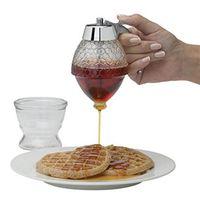 Squeeze Flasche Sirup Saft Dispenser Acryl Honig Sirup Spender Honig Topf Container Küche Dosen Erhalten|Quetschflasche|Heim und Garten -