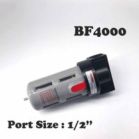 Free Shipping Oil And Water Separation Air Filter 1 2 BF4000 Air Source Treatment Pneumatic Component
