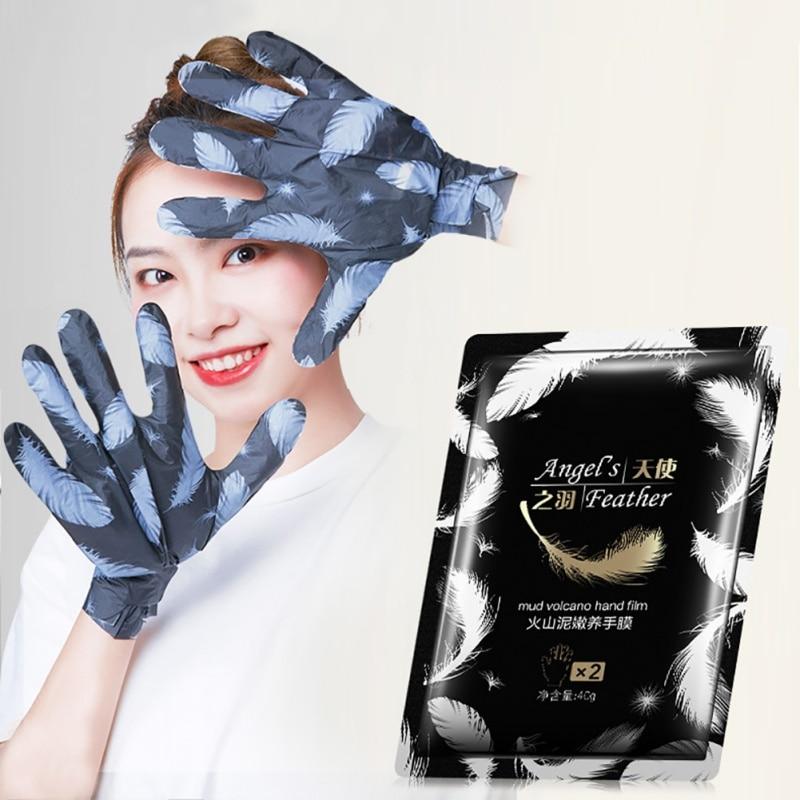 Volcanic mud Moisturizing Hand Mask Super Smoothing Whitening Hand Gloves Anti-Aging and Moisturizing Glove