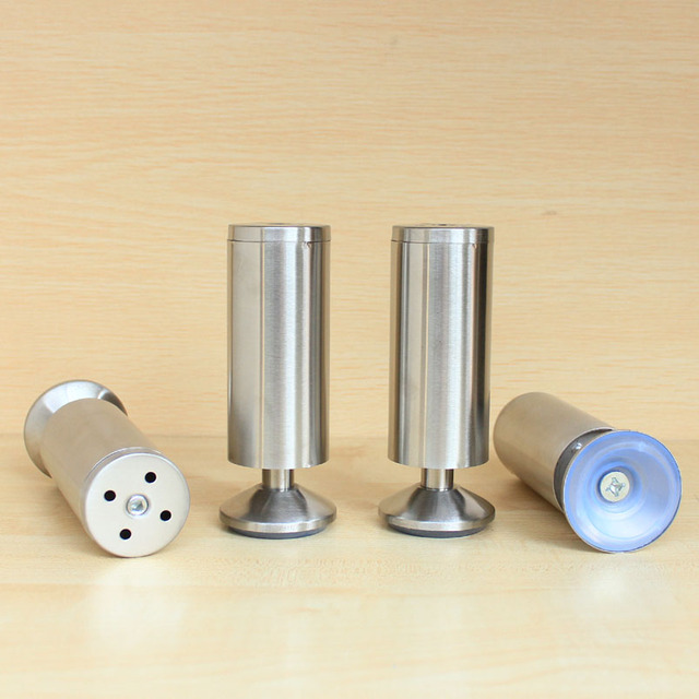 Us 17 28 4 Pcs Metal Stainless Steel Legs Furniture Kitchen Cabinet Feet 5 3 4 15cm In Casters From Home Improvement On Aliexpress Com Alibaba