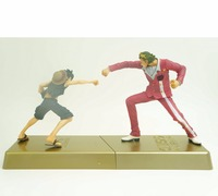 Gratis Verzending Anime Een Stuk Film Goud Aap D Luffy VS Gildo Tesoro Battle Boxed PVC Action Figure Collection Model Poppen Speelgoed