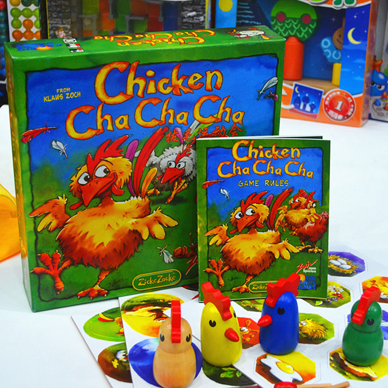 Chicken Cha Funny Board Game For Party Family indoor games