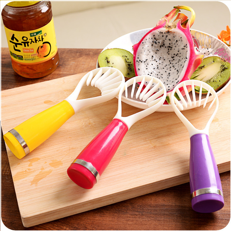 Cocina útil frutas Corers Melon cucharadas Baller cortador pelador cuchara carne