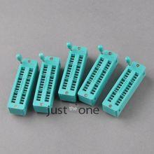 Эксперименты zif узкая измерительная схема pins socket ic универсальная шт.