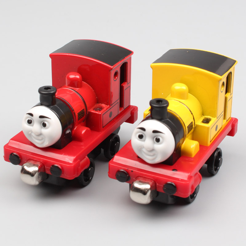 2pcs/set Rheneas thomas and friends trains locomotive Sodor railway the metal engine magnet Diecast model train toys for child