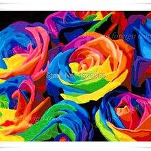 Вязание крючком, 5D, спиц, крючок, цветок розы Вышивка, алмаз вышитые бисером хобби, бесплатный email маркетинг