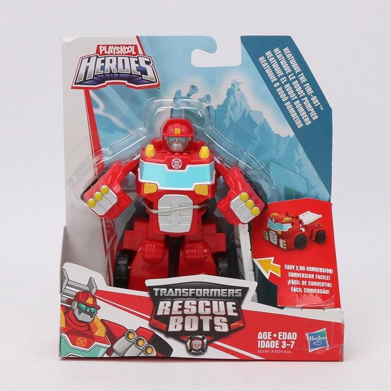 Playskool Heroes Transformers Rescue Bots Energize Heatwave Fire-Bot Figure NEW