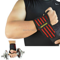 High quality 1 Pair Gym Weightlifting Training Weight Lifting Gloves Bar Grip Barbell Straps Wraps Wrist Support Hand Protection