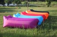 Beanbag Hangout Fast Inflatable Camping Sofa Lazy Sleeping Lay Bag Banana Nylon Air Bed Lounge Lounger