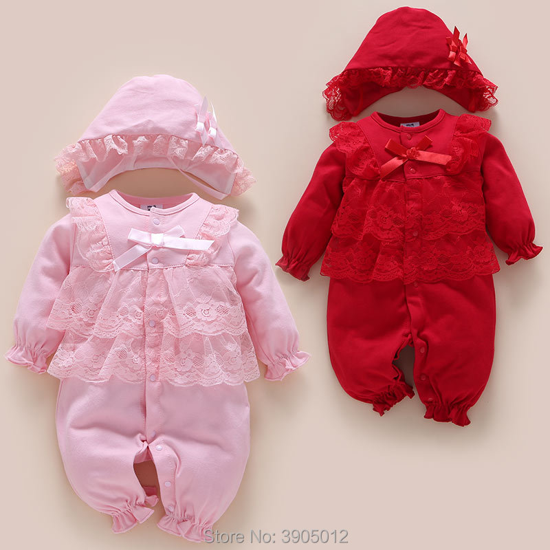 2018 Sale For Bebek Baby Rompers Spring Newborn 0 1 Year Old Female 3 Months 6 Clothes 12 Cotton Thin Section Models And