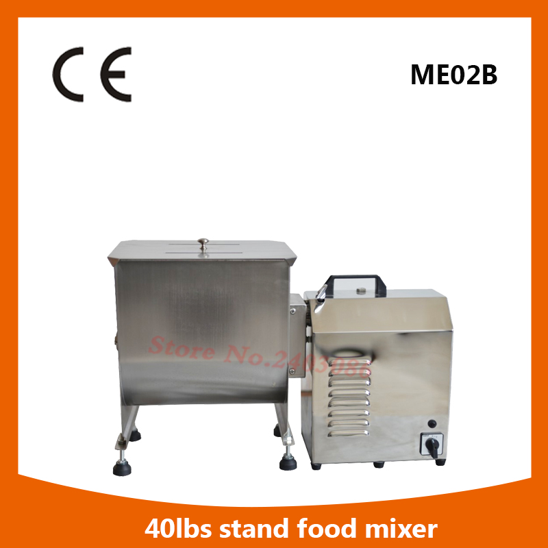 high efficiency food grade stainless steel electric food machine 40lbs meat mixer grinder for sale fast food leisure fast food equipment stainless steel gas fryer 3l spanish churro maker machine