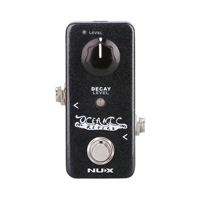 NUX Oceanic Digital Reverb Guitar Effect Pedal Wet Dry Control Mini Core Stompbox Room Hall Square