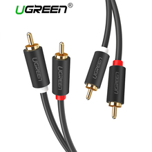 Ugreen 2RCA to 2 RCA Male to Male Audio Cable Gold-Plated RC