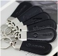 car logo engraved Leather keychains  keychains car ornament boutique key chain free shipping
