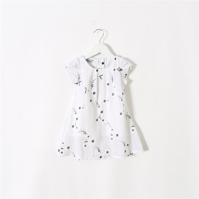 49f39d8be203 2015 Baby Girls Embroidered Floral Dresses Kids Girl Summer Cotton ...